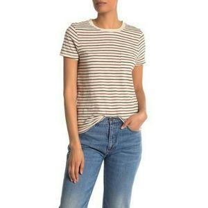 Madewell Retro Striped Crew Neck T-Shirt XS